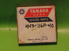 YAMAHA DT175 1974-76 TY175 '75-76 PISTON RINGS 4TH O/S OEM #443-11610-40-00