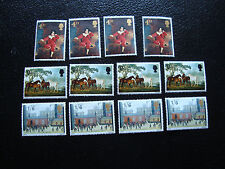 ROYAUME-UNI - timbre yt n° 491 a 493 x4 n* (A9) stamp united kingdom