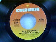 "NEIL DIAMOND ""FOREVER IN BLUE JEANS / REMEMBER ME"" 45"