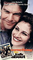 VHS Something to Talk About (VHS, 1996) VCR Tape Movie Julia Roberts