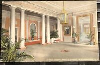 LOBBY WHITE HOUSE, WASHINGTON, DC Divided Back pre 1915 Postcard