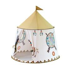 Portable Kids Teepee Tent Princess Castle Baby Toys Indoor Game Playing House