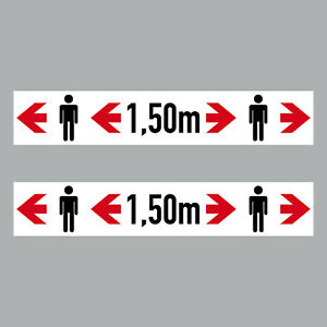 2 Sticker 20cm Sticker Stop Please 1,5m by far The Keep Notice 4061963068748
