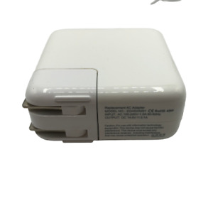 Apple Charger Replacement AC Adapter Model EG45WMSI White