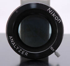 Nikon Rotatable Analyzer/Linear polarizer for Microscope/Comparator ? Excellent