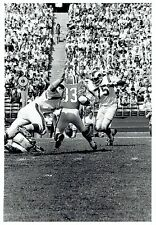 1971 Vintage Photo LA Rams defensive end Deacon Jones & Falcons back Jim Butler