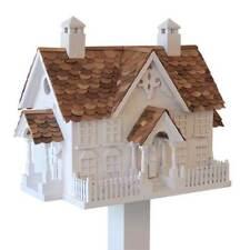 Wrension White Bird House by Home Bazaar