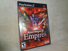 Dynasty Warriors 4: Empires Playstation 2 PS2 VERY GOOD Condition