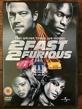 Paul Walker Eva Mendes 2 Fast 2 Furious ~ 2003 Coche Chase Acción Secuela Gb DVD