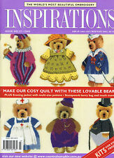 INSPIRATIONS MAGAZINE issue 27 2000 pattern attached BEAUTIFUL EMBROIDERY