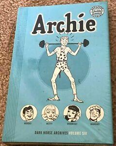 Archie Archives Volume 6, SEALED, Dark Horse Hardcover, Archie #19-22 Pep # 57-5