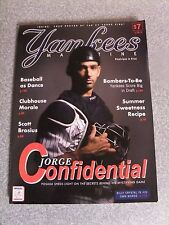 L#568 2007 Yankees Magazine Game Program, Jorge Posada cover,  Clemens poster