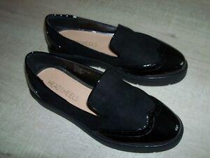 NEW DUNE Gambler Brogue Style Shoe - Flats - Size UK 6