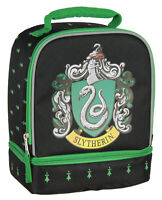 Harry Potter Slytherin Crest Dual Compartment Lunch Bag Tote