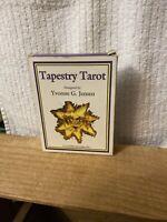 Tapestry Tarot Designed By Yvonne G Jensen U.S. Games Systems (1995)