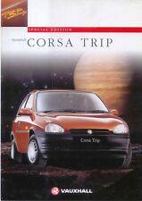 Vauxhall Corsa 1.2i Trip Limited Edition 1996 Original UK Sales Brochure V10420