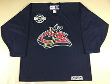 Vintage Columbus Blue Jackets Hockey-NHL CCM Jersey SizeL