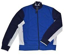 New $135 Ralph Lauren Sapphire Blue Full Zip Interlock Track Jacket / BIG 3X