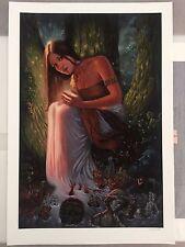 1xRUN MIA ARAUJO The Healer art print edition of 20 1xRUN SOLD OUT obey faile