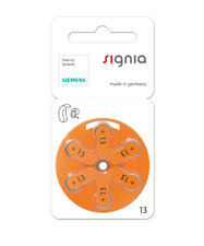 NEW Siemens Hearing Aid Batteries s13 (size 13) from Hearing Savers