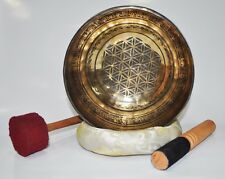 HEALING HANDMADE NEPAL TIBETAN SINGING BOWL FOR RELAXATION THERAPY 20 CM