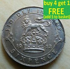 More details for george v sixpence 6d silver coins choose your date 1910-1936 choice