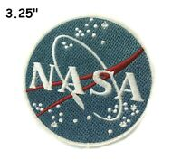NASA Logo Embroidered Patch iron-on / sew-on Badge Emblem Space Vector Applique