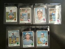 1973 TOPPS * MONTREAL EXPOS * *7 CARD LOT!!! NM OR BETTER  KRB-8655