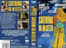 Caterina va in città (2003) VHS Eagle  Margherita Buy Paolo Virzì