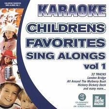 Various Artists : Karaoke: Childrens Favorites Sing Along CD