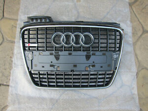 2005 2006 2007 2008 AUDI A4 S LINE FRONT GRILLE OEM NICE! 2008