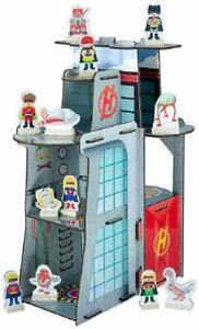 Teamson Kids Super Hero Center Table Top Play Set New in Box