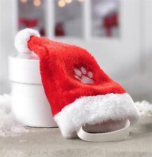 Santa Dog Hat Christmas Costume Elastic Strap