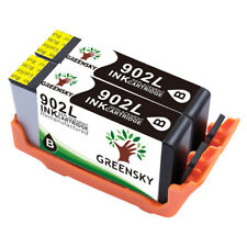 2 Black 902 L Ink Cartridge Replacement for HP Officejet Pro 6979 6960 6950 6968