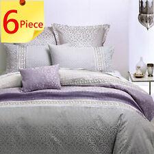 Inverness Mauve by Linen House Duvet Doona Quilt Cover Set   Bed Pack   Queen