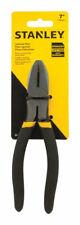 Stanley  7 in. Steel  Linesman Pliers  Black/Yellow  1 pk