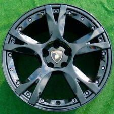 Black OEM Factory Lamborghini Gallardo CALLISTO LP560 19 inch Rear WHEEL Calisto