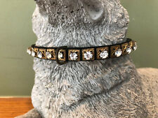 True Vintage Rhinestone Dog Collar