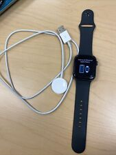 Apple Watch Series 4 44mm Space Gray Aluminum Case Black Sport Band (MTUW2LL/A)