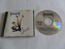 NAZARETH - No Jive (CD 1991) Germany Pressing