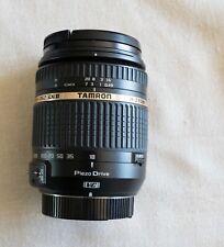 Tamron 18-270mm f/3.5-6.3 Piezo drive VC DX lens with Nikon mount