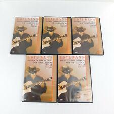 Esteban's Instructional Method For Guitar DVDs (Complete Set Volumes 1-5)
