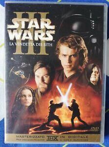 Star Wars Episodio III: La vendetta dei Sith (2005) DVD OTTIME CONDIZONI