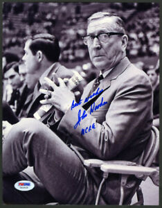Coach John Wooden SIGNED 8x10 Photo UCLA BRUINS PSA/DNA AUTOGRAPHED Pyramid