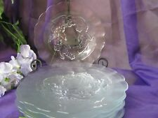 Embossed Flowers and Leaves Luncheon/Salad plates (8) GA-15