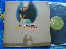 CAT STEVENS ♫ HAROLD AND MAUDE ♫ RARE JAPAN A&M RECORDS ♫  #4