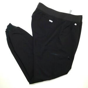 Figs Technical Collection Scrub Bottoms Size XL Black 31 in Length