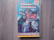 Transformers - the nightmare planet - retro vhs