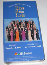 DAYS OF OUR LIVES 35th Anniversery Video + 40th Anniversery CD-ROM - Very Rare!