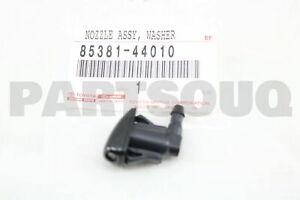 8538144010 Genuine Toyota NOZZLE SUB-ASSY, REAR WASHER 85381-44010